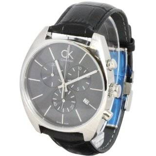 Gents Square Black Dial Mens Watch K1U21402 Calvin Klein Watches
