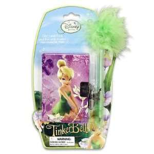 Disney Tinkerbell diary with Lock & Pen Set