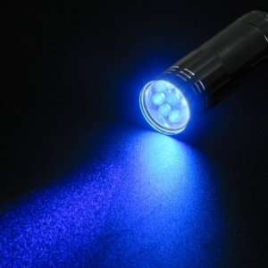 Ultraviolet UV Mini Torch Flashlight Lamp Light Patio, Lawn & Garden