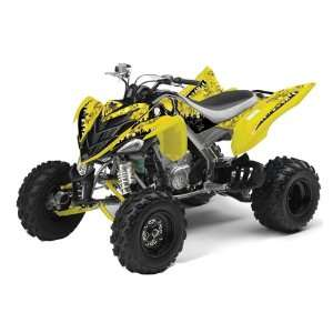 Yamaha Raptor 700 ATV Quad Graphic Kit   Reaper Yellow Automotive