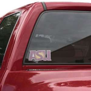 Arizona State Sun Devils Perforated Window Decal