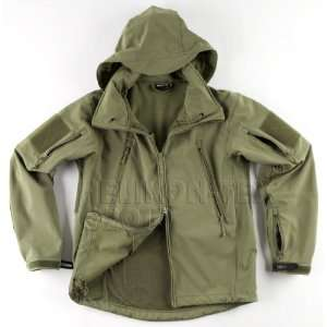 Helikon Army Gunfighter Jacket Soft Shell with Hood Olive APCU 2XLarge