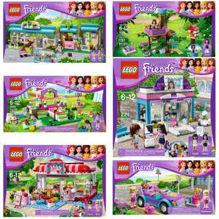 LEGO Friends Olivias Tree House & Your Choice LEGO Friends Bundle Set
