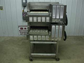 Lincoln Impinger 1132 Conveyor Double Stack Pizza Oven