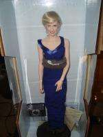 FRANKLIN MINT PRINCESS DIANA PORCELAIN DOLL BLUE GOWN