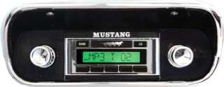 Stereo Radio 1967 67 Ford Mustang Custom Autosound USA 630 240 Watts