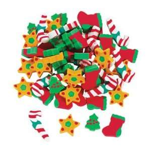 Holiday Erasers   Basic School Supplies & Erasers & Pencil