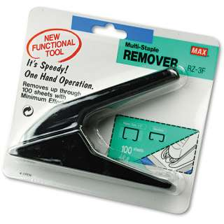 Max Heavy Duty Staple Remover Office