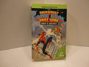 OVERSTREET Price Guide #22,23 VFn, Spider man, Flash, Green Lantern