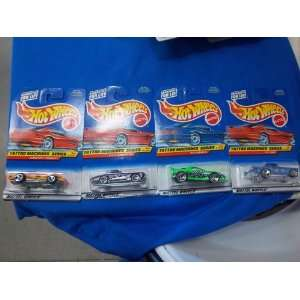 1997 HOT WHEELS TATTOO MACHINES SERIES COMPLETE SET