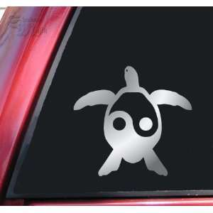 Yin Yang Honu Hawaiian Sea Turtle Vinyl Decal Sticker